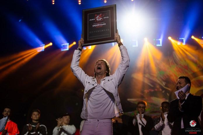 Grohotsky отримав свій приз за перемогу у телепроекті «Українська пісня»