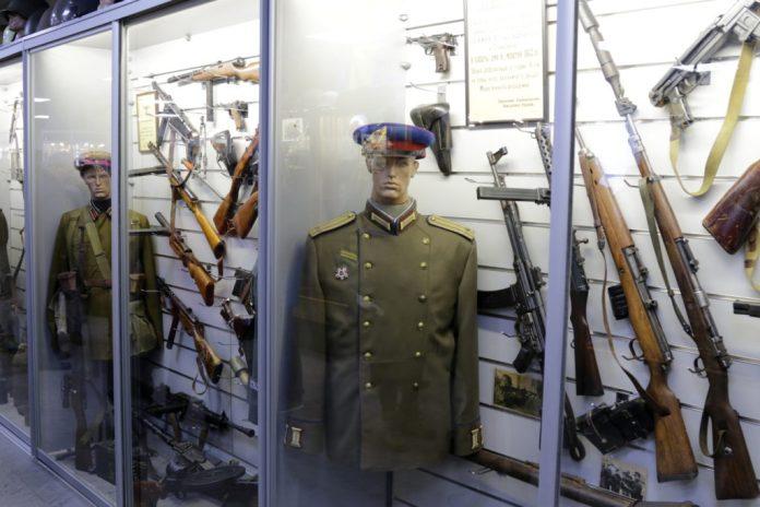 Відкриття приватного військового музею