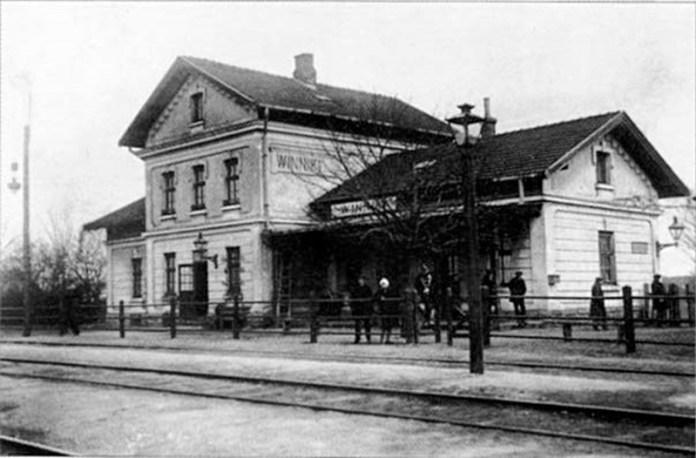 Винниківський залізничний вокзал. Поч. XX ст