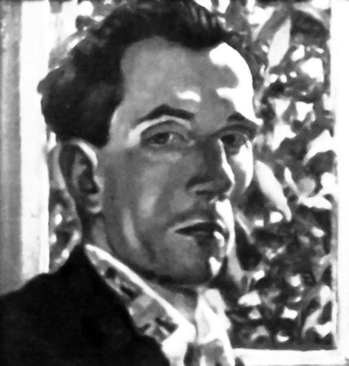 Степан Луцик. Автопортрет, 1930-ті рр. (репродукція)