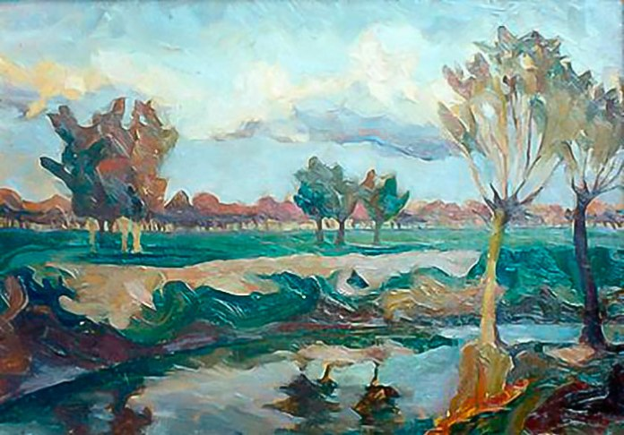 Ольга Козакевич. Річка Бистриця, 1926