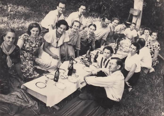 Родини Бучковських Молчановських Салієнків. Дубно, 1956 рік