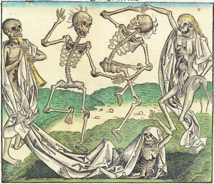 Міхаель Вольгемут. Танець смерті (1493)