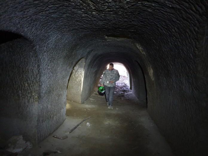 Австрійський тунель коло Миколаєва