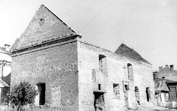 Вірменська церква святого Стефана в Луцьку. Фото кінця ХІХ століття