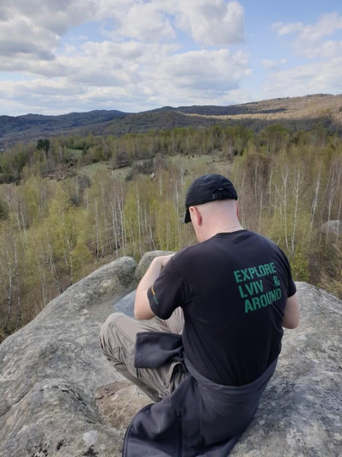 Вид з гори Кікошів Камінь