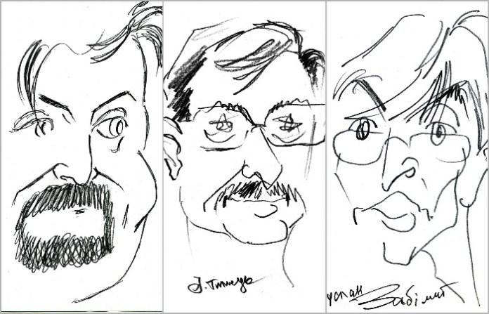 Третій тур карикатур, або музейникам присвячується