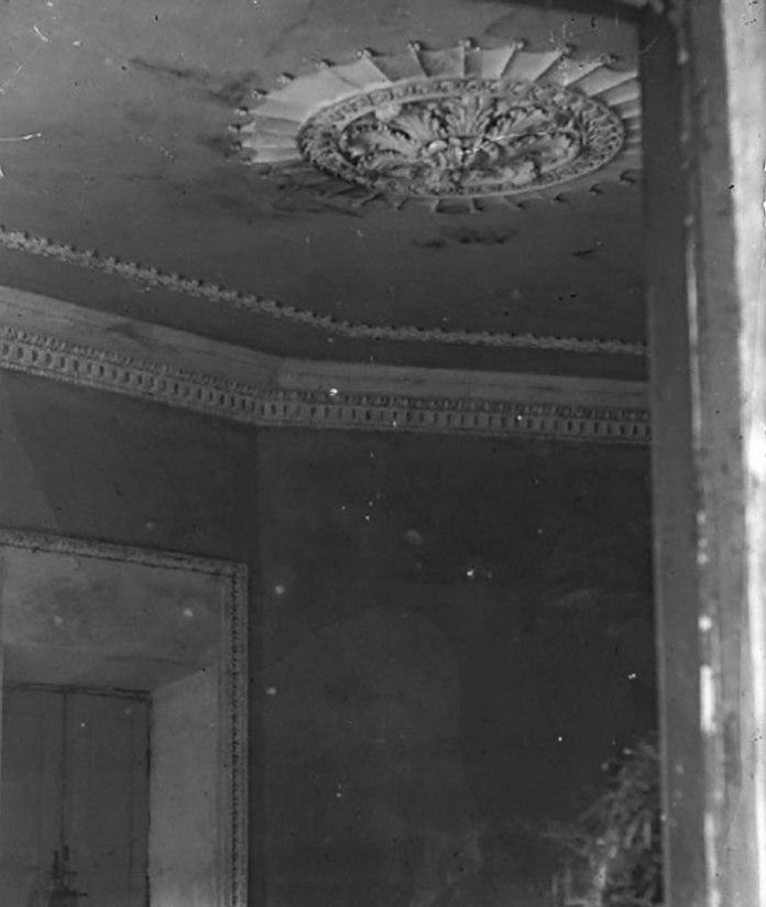 Фрагмент ліпнини, фото до 1937