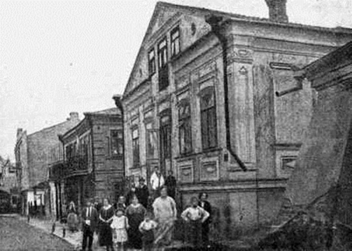 Вулиця Шкільна, поч. ХХ століття
