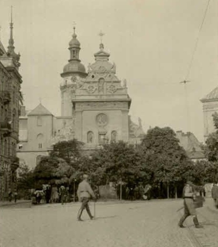 Бернардинський костел, 1915 р.