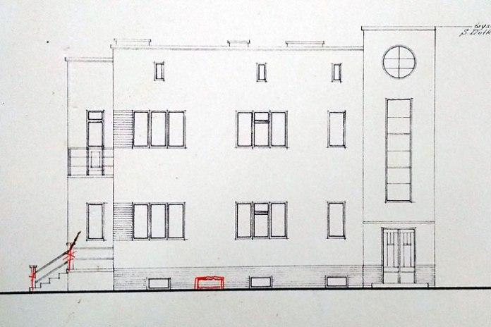 Проект будинку для Куліковських в Луцьку, 1938