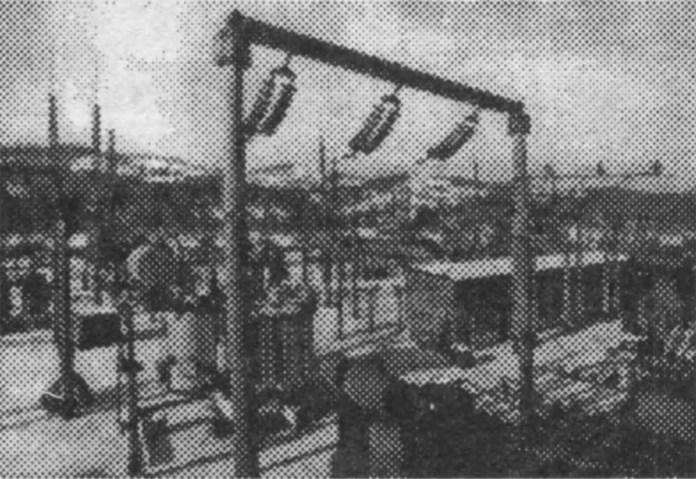 Тягова підстанція змінного струму на лінії Красне – Тернопіль
