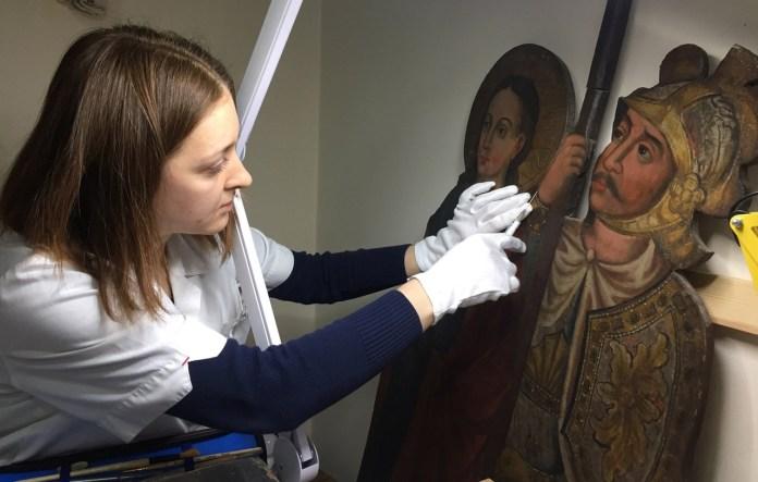 Реставрація іконостасу XVII–XVIII ст.