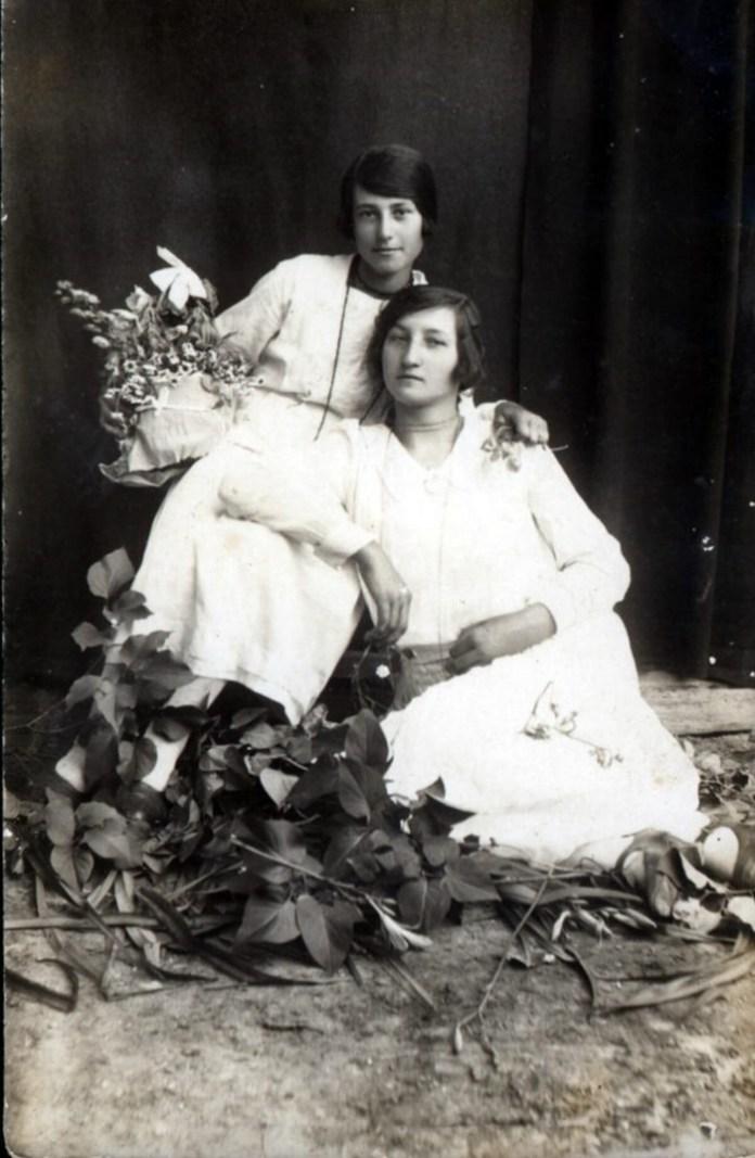 Василь Либак з сестрами, 1920-і роки