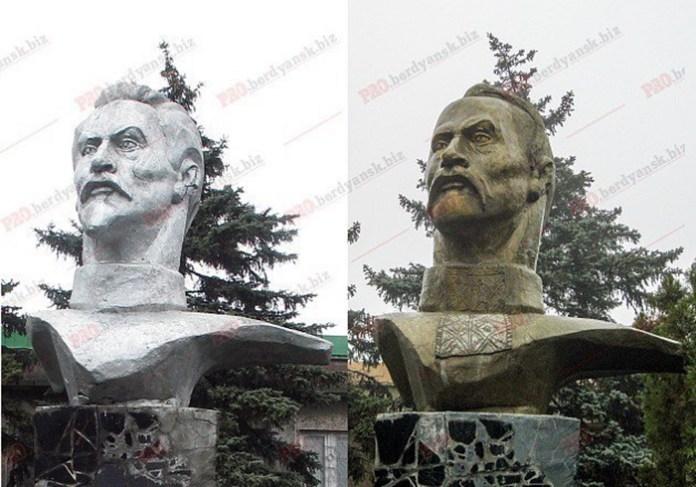 Фелікс Кривоніс у Бердянську. Джерело фото: lb.ua/news