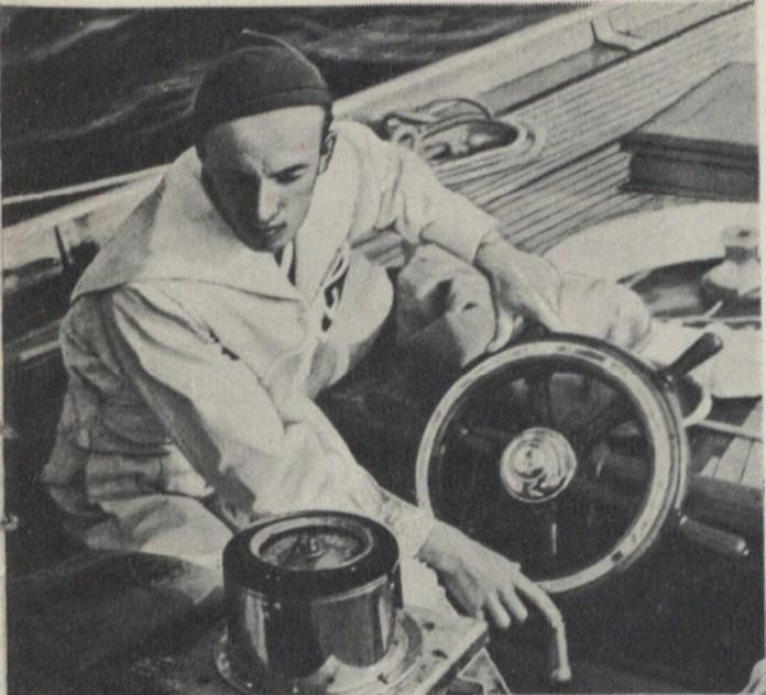 На яхті «Кшиштоф Арцишевський»