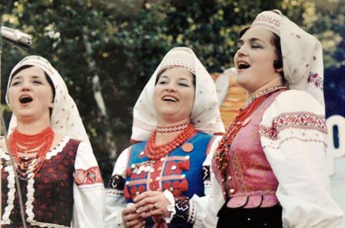 Знамените вокальне тріо сестер Байко: Даниїла, Марія та Ніна.