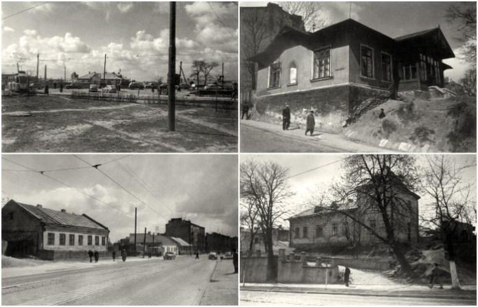 Район вулиці Шевченка 1960 року в об'єктиві Юліана Дороша