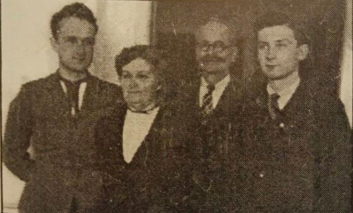 Родина Кохів. Луцьк, червень 1941