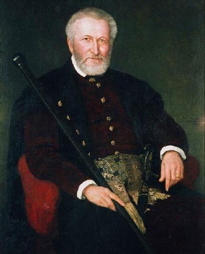 Леон Людвік Сапіга. Портрет роботи Генріка Родаковського, 1878 р.