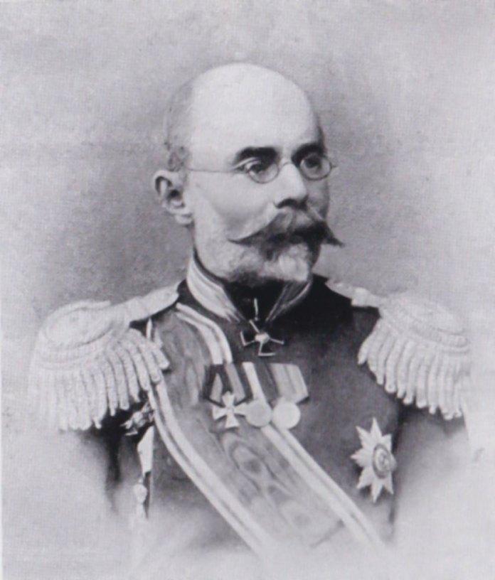 Олексій Бутовський. Світлина опублікована у журналі «Нива» за 1906 рік.