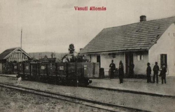 Вантажні вагони Боржавської вузькоколійки. 1910-ті рр..