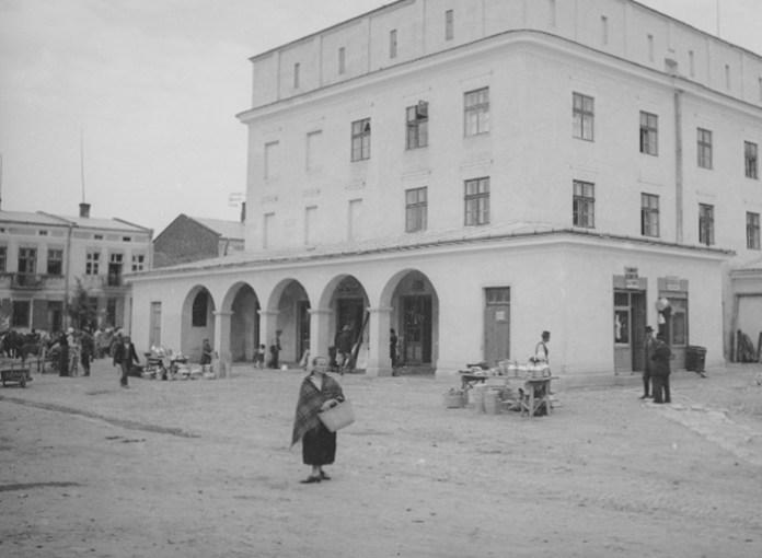 Журавно, 1920-30-ті рр. Фото: Генрик Поддембський