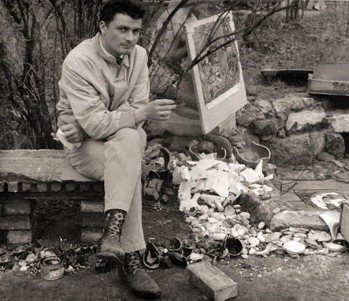 Флінта, виконання дипломної роботи, 1965 р.
