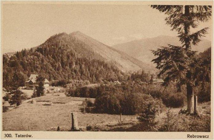 Гора Ребровач. Листівка початку ХХст.