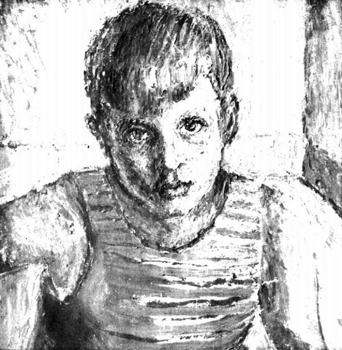 Володимир Ласовський. Портрет сина Ярополка, 1946