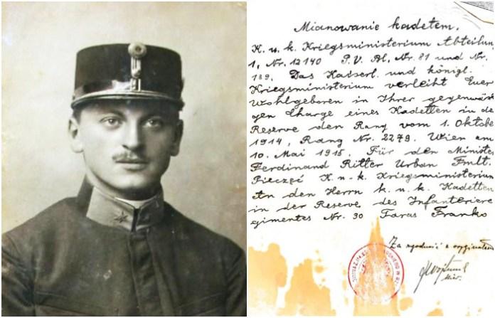 Чим займався Тарас Франко у воєнний і міжвоєнний час