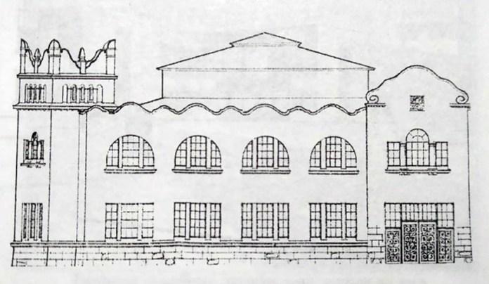 Один з проектів ринку на вул. Личаківській. 1910-ті рр.