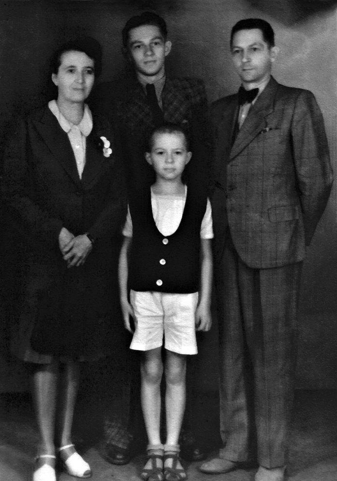 Родина Середів, Дрогобич, 1944 рік