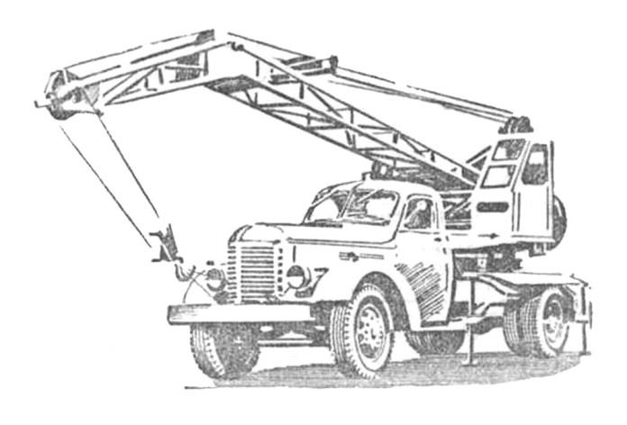 Автокран АК-32, який мав випускати Львівський автоскладальний завод