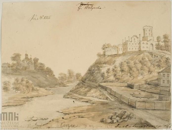 Корець (Рівненщина) руїни замку