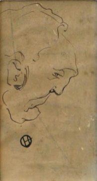 Олекса Новаківський. Начерк до портрету Василя Барвінського, 1920 – 1930-ті рр.