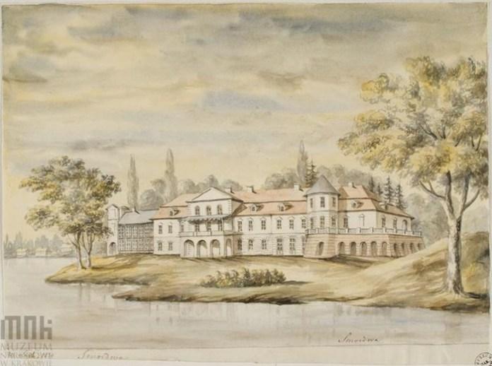 Смордва, палац Ледуховських. Вид з іншого ракурсу