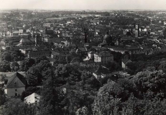Панорама Львова, 1920-1930-ті рр.