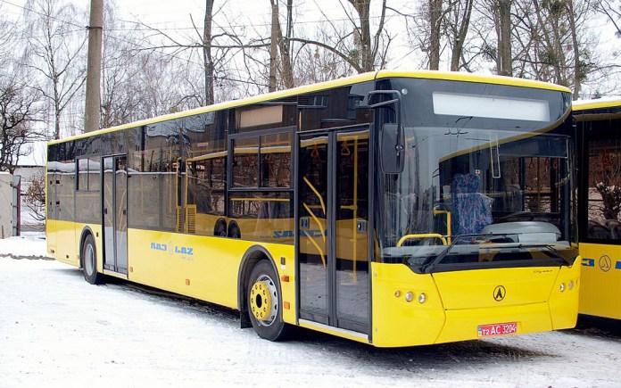 Автобус ЛАЗ А191. Вигляд на праву сторону кузова. Автор фото – Юрій Пилипчук