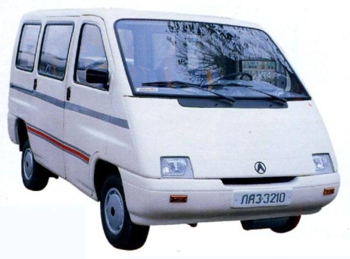 Мікроавтобус ЛАЗ-3210, розроблений на початку 1990-х років
