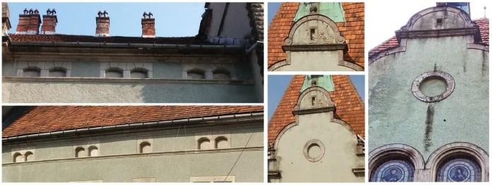 Приклади сліпих вікон (Сліпе вікно — ніша в стіні, що імітує віконний отвір)