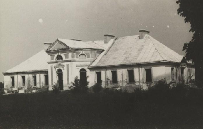 Палац в Йосипівці Буського району. 1930-ті рр.