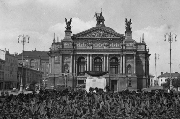 Львів, оперний театр, 1942 р.