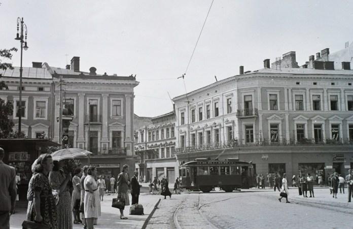 Львів, сучасний проспект Свободи, 1942 р.