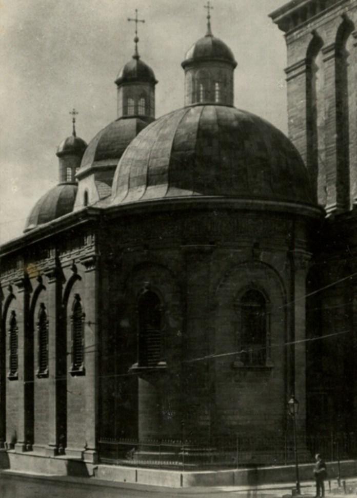 Успенська церква, 1921 р. Фото: Ян Булгак