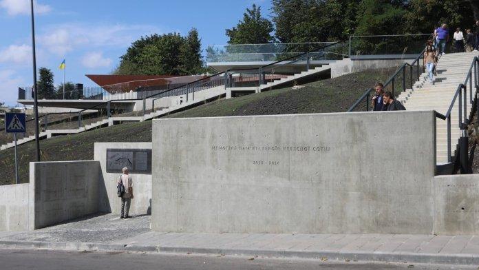 Меморіал Небесної Сотні. фото Романа Балука