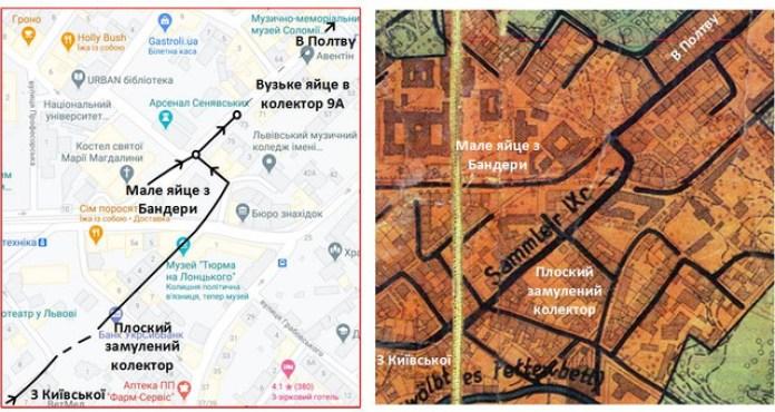 Карта пройденої ділянки. Офіс «Фотографій Старого Львова» там теж є ;)