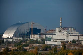 Арка для Чорнобильської АЕС (Україна) chernobylzone.com.ua