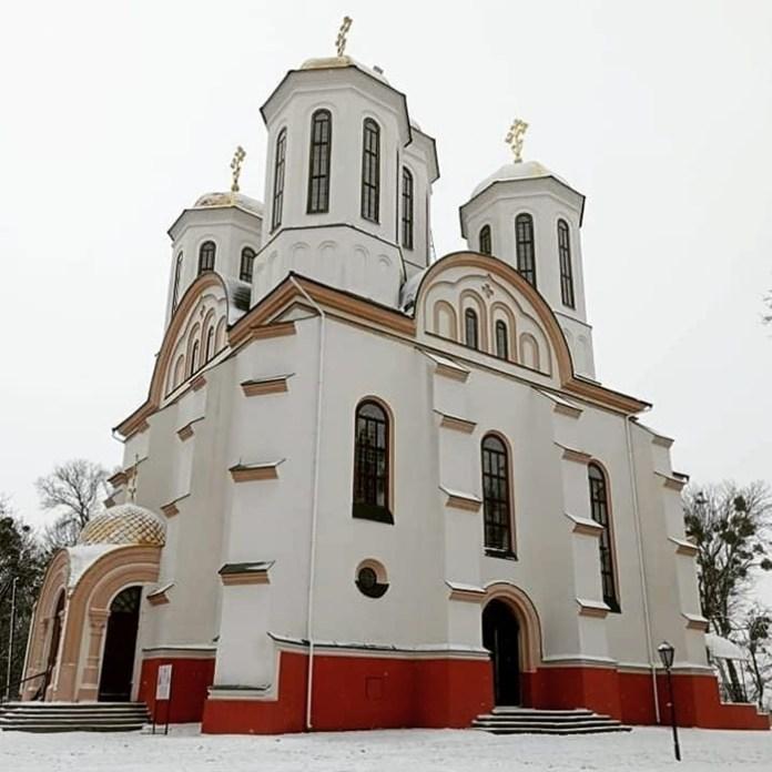 Богоявленський собор на Замковій горі в Острозі