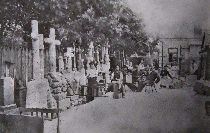 Майстерня Ярмушевського, де виготовляли кам'яні надгробки